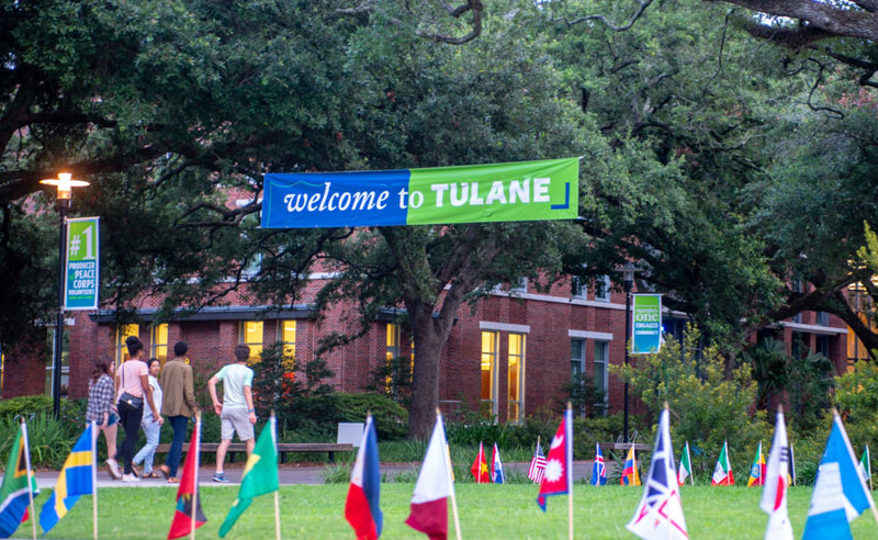 Welcome to Tulane
